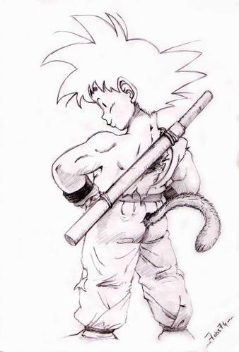 Dessin dbz catch wwe - Dessin manga dragon ball z ...